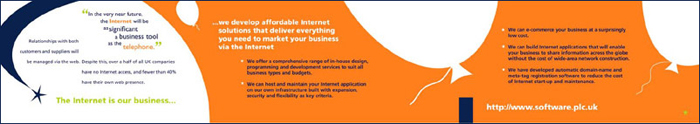 @software orange flyer